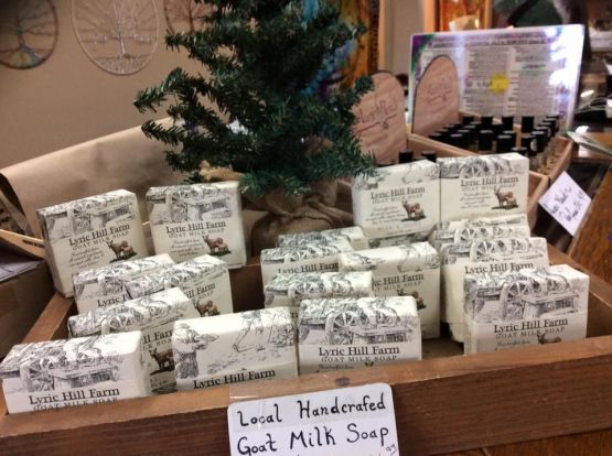 Lyric Hill Farm handcrafted goat milk soap