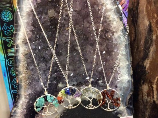 Nicole's tree of life pendants