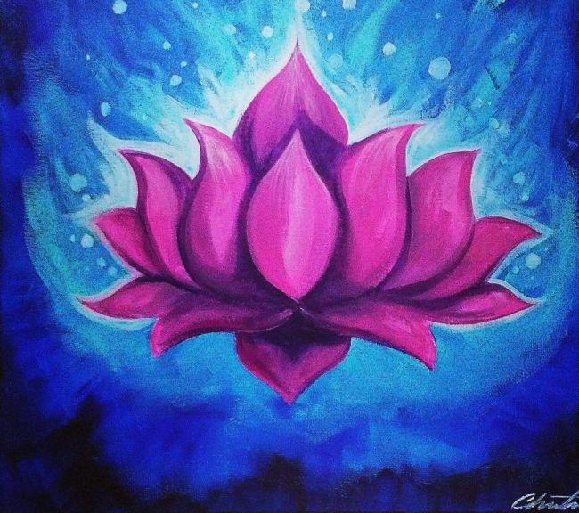 Spiritual art paint night lotus flower mondazzi book bead crystal spiritual art paint night lotus flower mightylinksfo