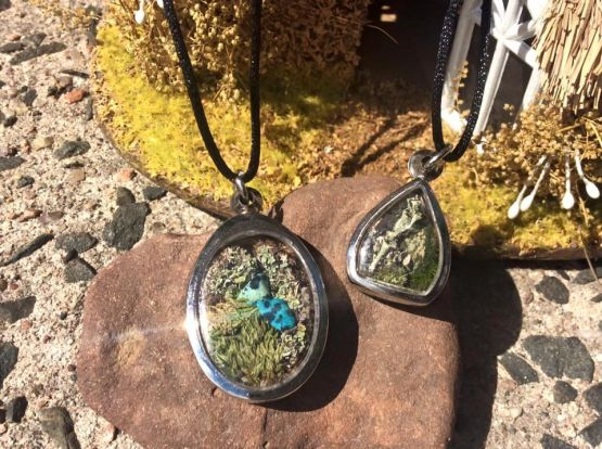 The Wild Fay terrarium jewelry